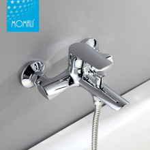 China factory price new design hot cold copper bath faucet