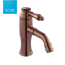 Single Hole Tall Wash Brass Body Bathroom Kitchen Faucet With Mixer