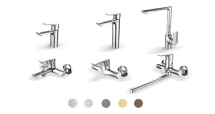 New Design Wash Faucet Basin Brass Wash Basin Faucet