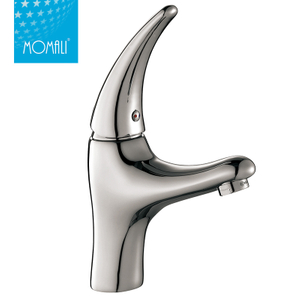 Classical Basin For Bathrooms With Single Handle Waterfall Faucet