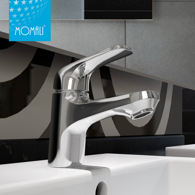 China wholesale hot sale bathroom basin faucet with single handle